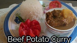 Gorur Gosto Aloo | Beef Potato Curry | How to make beef potato curry in Bangladesh