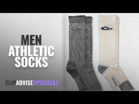 Drake Athletic Socks [ Winter 2018 ]: Drake Men's Thermal 80% Merino Wool Sock And Moisture