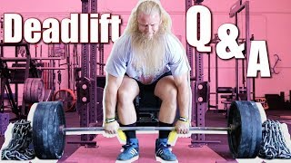 right way to dead lift