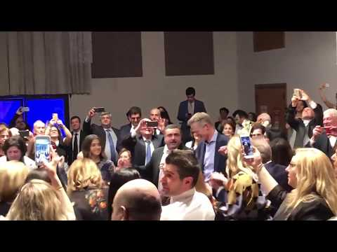 Steve Kerr at San Francisco's KZV Armenian School's 38th Annual Gala; joining in gratitude and dance