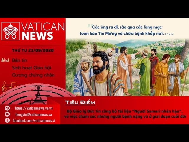 Radio: Vatican News Tiếng Việt thứ Tư 23.09.2020