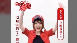 花澤香菜玩抖音 - Cells At Work Tik Tok Promotion Video【はたらく細胞】 花澤香菜 検索動画 21