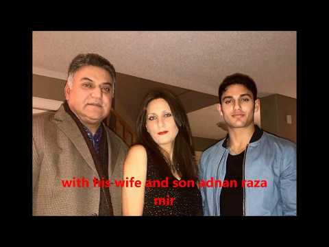 Asif raza mir and his family
