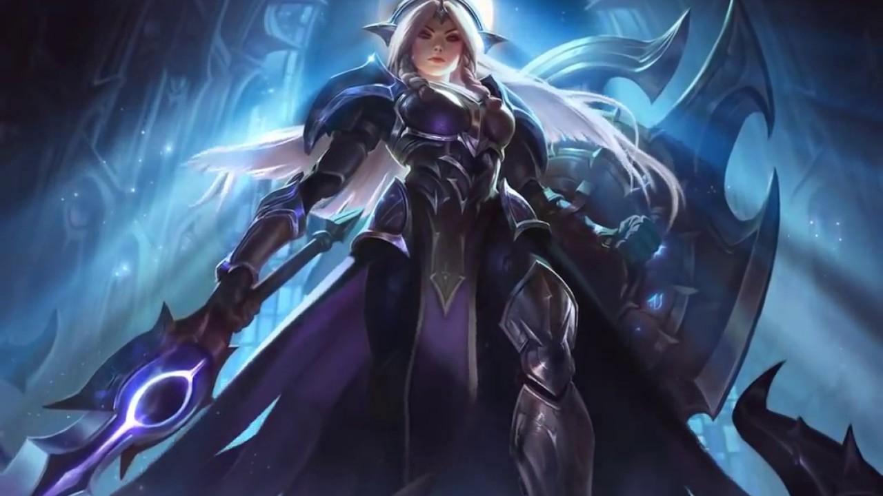 New Eclipse Leona Login Screen League Of Legends Youtube