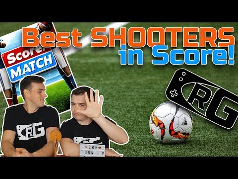 E037 - CRG, Score! Match - Best Shooters In The Game! Top 5 Goal Scorers!