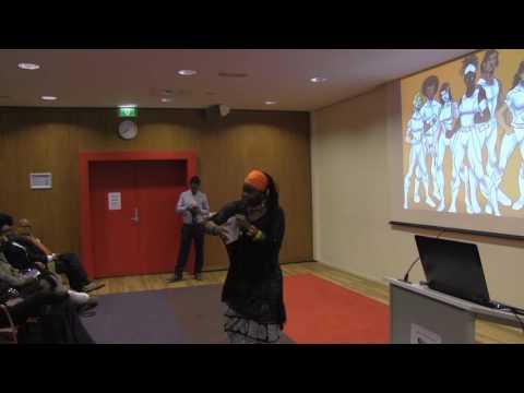 "Aminata Cairo - Conference Decolonizing our Education #BlackMindsMatter"""