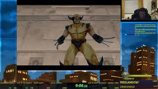 X2: Wolverine's Revenge PC Speedrun 1:23:27 (Current World Record)