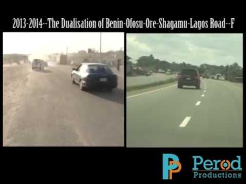 The Dualisation of Benin-Ofosu-Ore-Shagamu-Lagos Road--F