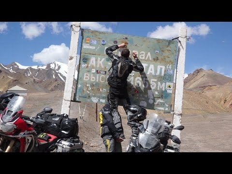 Motorcycle World Tour, Episode 7 - Uzbekistan and the famous Pamir Highway