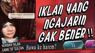 KORBAN IKLAN : Mencoba GAME of SULTAN! | NGAKAK GAK BERHENTI!!