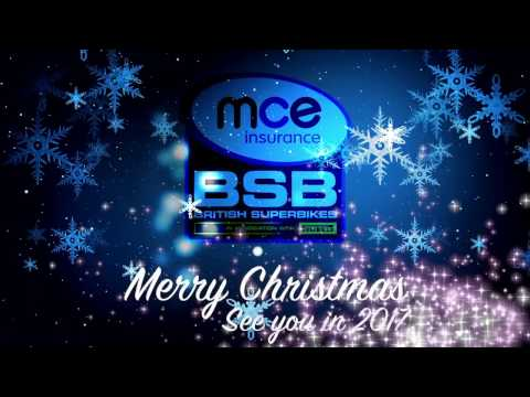 Merry Christmas from the MCE Insurance British Superbike Championship - 2016