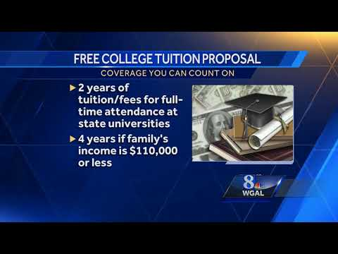 Free college tuition for some proposed at Capitol