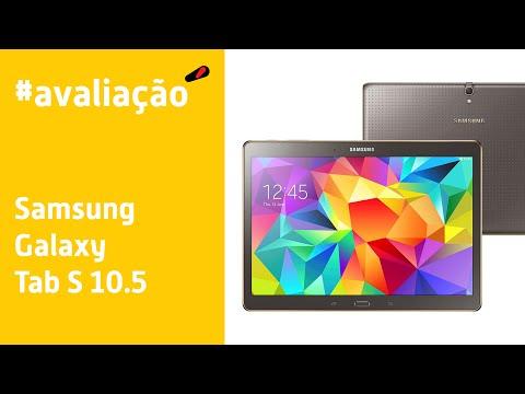 Samsung Galaxy Tab S 10.5 - Avaliação