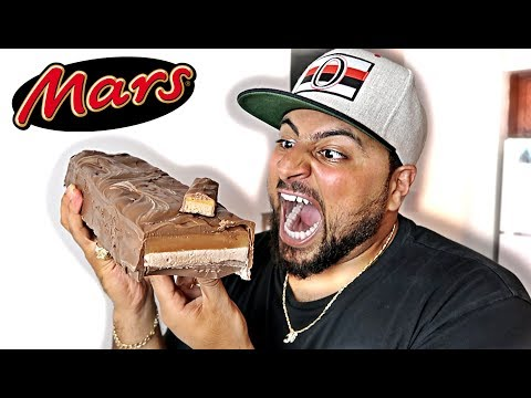 DIY GIANT MARS BAR!!