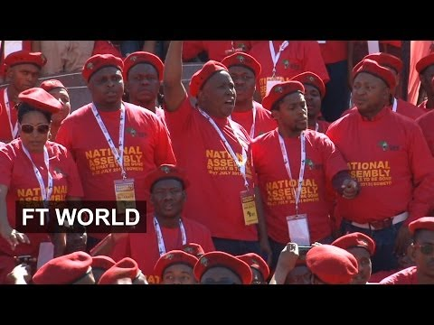 Politics heats up in South Africa