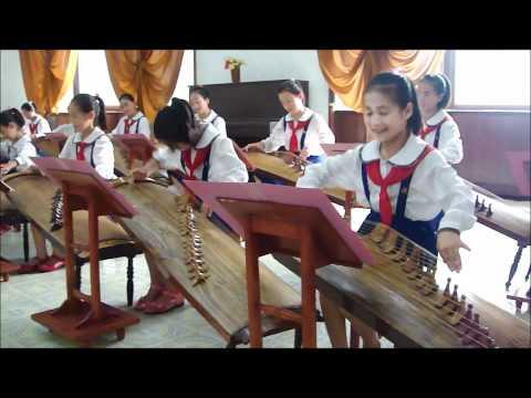 North Korea's Elite Children at the Children's Palace