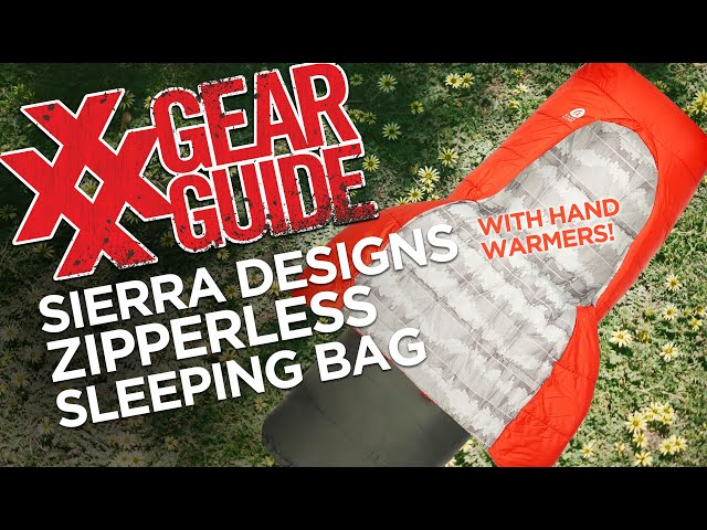 Zipperless Sleeping Bag - Sierra Designs Frontcountry Bed 20