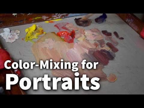 Color-Mixing for Portraits | Acrylic & Oil Painting Lesson