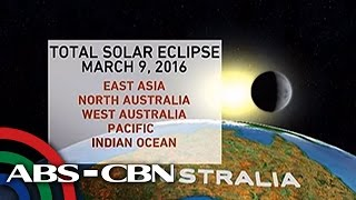 Bandila: Partial solar eclipse to be seen in Manila