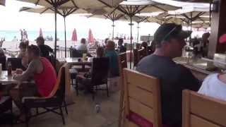 #84 США Гавайи Гонолулу Ужин в Cheesecake Factory Отель Royal Hawaiian