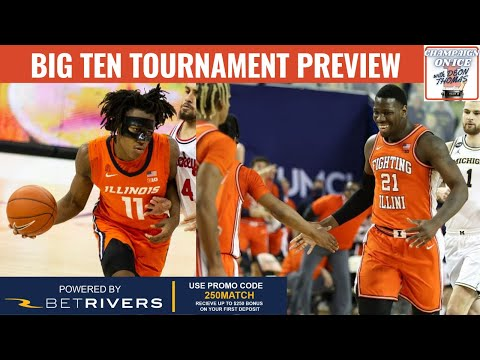 Why ILLINOIS Will WIN The Big Ten tournament, Regular Season Title Snub? | Champaign on Ice