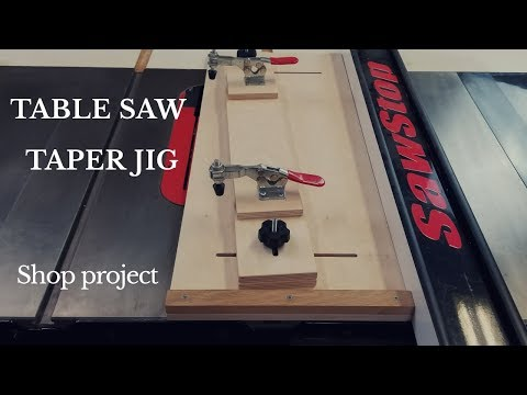 taper-jig-for-the-table-saw-(woodworking-shop-project)