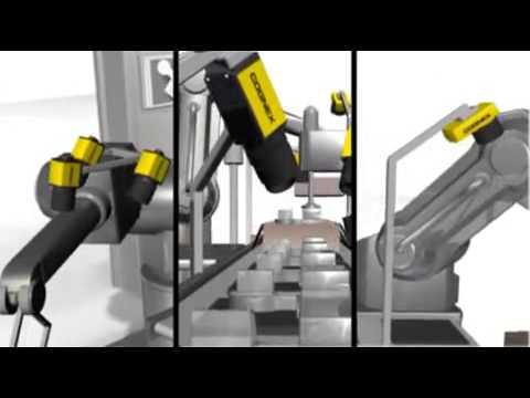 Cognex Machine Vision System Factory Floor Industrial