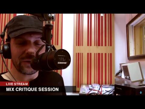 Live Mix Critique Session