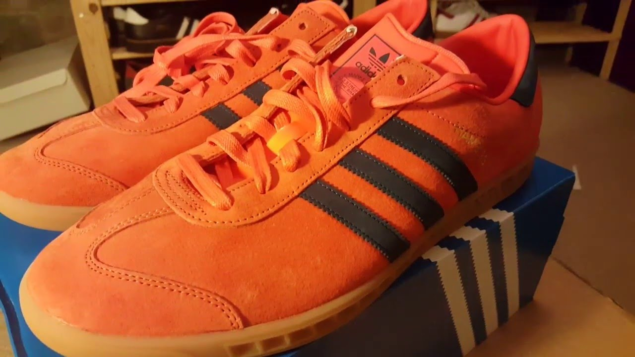 adidas amburgo in arancione & & & marina  perchoriginals su youtube 3a4fcc