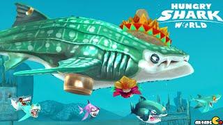 Hungry Shark World - New Baby Shark Pet Whale Shark High Score 6M+!