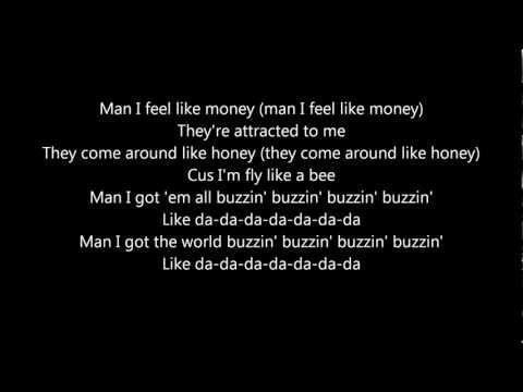 Buzzin' By Mann (LYRICS)