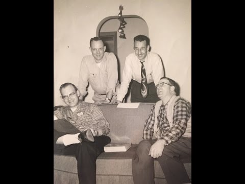 Pop Chords barbershop quartet WILE Radio 1959 #2 Cambridge, Ohio