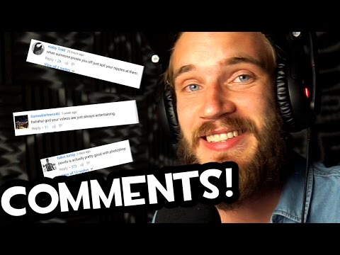Thumbnail: READING COMMENTS (Fridays With PewDiePie - Part 117)