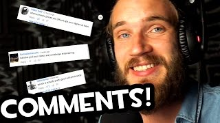 READING COMMENTS (Fridays With PewDiePie - Part 117)(, 2016-05-20T15:02:53.000Z)