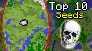 TOP 10 SCARY Minecraft Seeds of ALL TIME (Secret Seed) #1