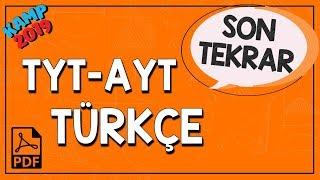 TYT-AYT Türkçe Son Tekrar  Kamp2019