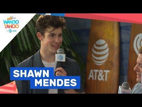 Shawn Mendes Talks Album Conspiracy Theories at KIIS FMs Wango Tango