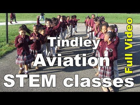 Tindley Summit Academy STEM classes - Aviation (full video)
