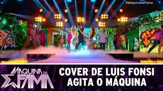 Participante põe todo mundo para dançar | Máquina da Fama (14/08/17)