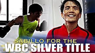 SABILLO TO FIGHT FOR THE WBC SILVER TITLE IN CHINA ASKS SUPPORT FROM FANS