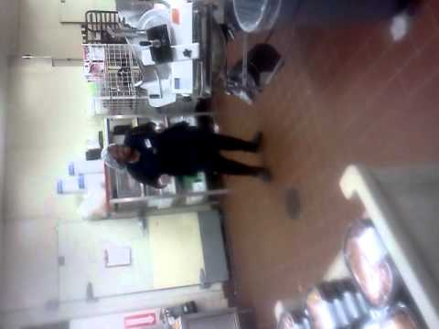 Zulu gets paid to dance at work