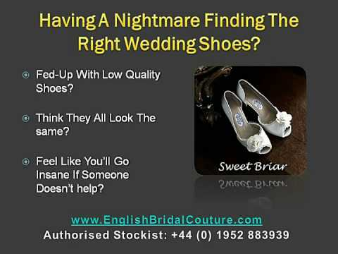The Ultimate Ivory silk wedding shoes