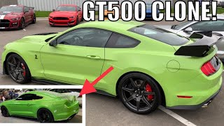 We're Copying The Grabber Lime 2020 Shelby GT500!