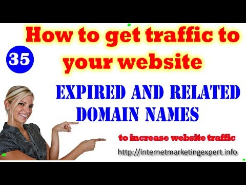 How to Get Traffic To your Website buy expired domains|recently expired domains, Related
