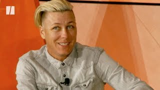 Abby Wambach Talks Parenting At 'How To Raise A Kid' Conference