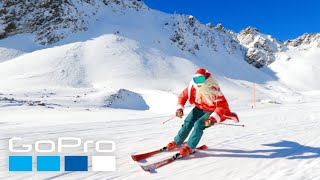 GoPro Awards: Santa Claus is Skiing to Town