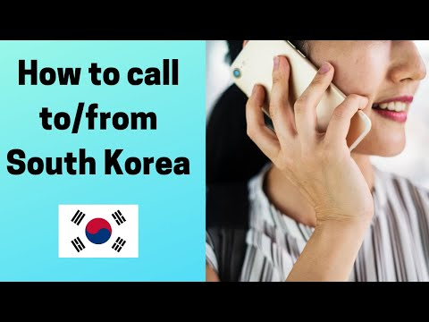 South Korea Dialing Code - How To Call To/from South Korea