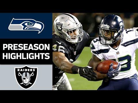 Seahawks vs. Raiders | NFL Preseason Week 4 Game Highlights