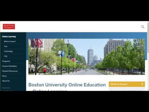 Boston University Online Education