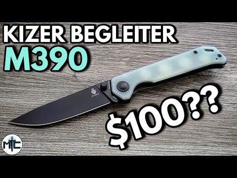 Download Kizer Begleiter M390 / Natural G10 Folding Knife - Overview